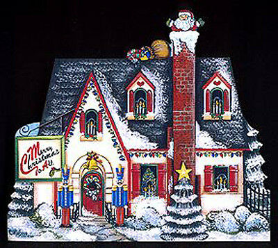 Brandywine Seasons of the Heart: DECEMBER Santa Claus Down the Chimney House