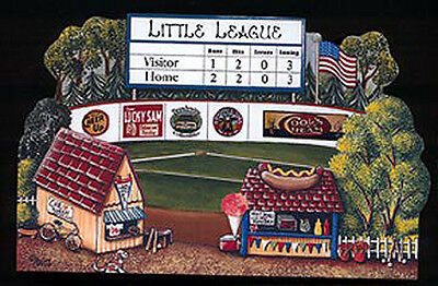 Brandywine Collectible Downtown Houses & Shops: LITTLE LEAGUE Baseball Field