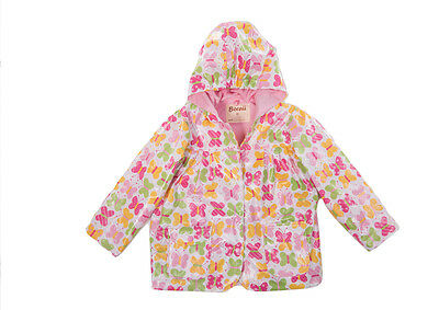 BOREII - Waterproof Windproof Breathable Kids Raincoat Jacket <Butterfly>