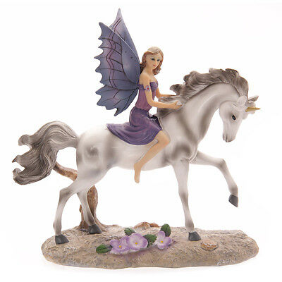 Tales of Avalon Amethyst Rider Fairy by Lisa Parker Figurine Fantasy Magical