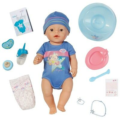 Baby Born Interactive Baby Boy, Newborn Baby Boy Doll with Accessories
