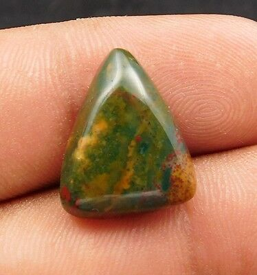 10.6Cts Aaa Quality A+ 100% Natural Blood Stone 17X14X5 mm Cabochon Gemstone