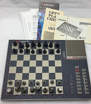KASPAROV COMPANION III Electronic Chess Computer in Box with All Pieces
