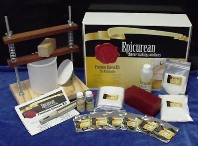 NEW Epicurean - Premium Cheese Making Kit
