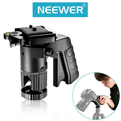Neewer Pistol Grip Ball Head with Quick Release Plate for Tripods and Monopods