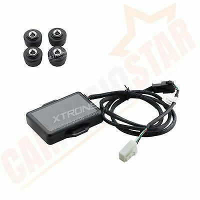 TPMS Tyre Pressure Monitoring System With 4 Sensors for XTRONS Android Car Radio