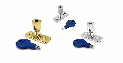 Carlisle Brass - WF17PB/CP/SC/BP - Locking Casement Stay Pin (PREPACK)
