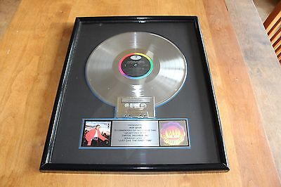 Freddie Jackson - USA RIAA LP Platinum Award / Just Like The First Time