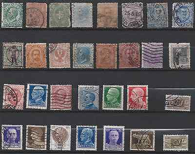 ITALY: small collection on 2 scans.