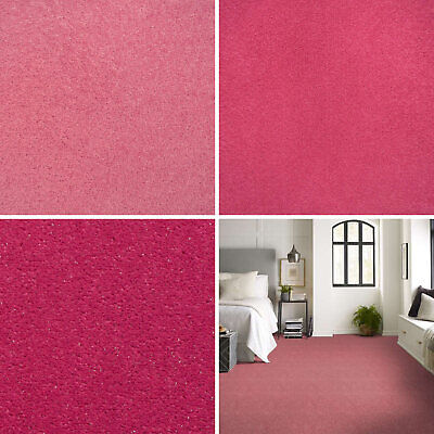 Pink Carpets Cheap Pink Carpets Loop Twist & Saxony Pile Pink Carpets Feltback