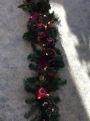 christmas garland 6 ft