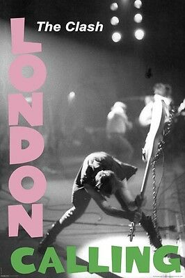 """THE CLASH POSTER """"LONDON CALLING"""" LICENSED """"BRAND NEW"""" 61 cm X 91.5cm"""