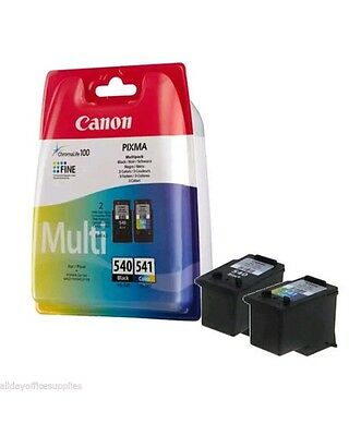Canon Pg-540 and Pg-541