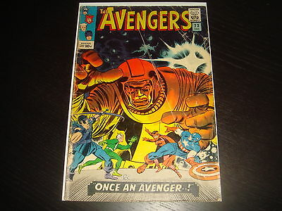 THE AVENGERS #23  Silver Age Lee Heck  Marvel Comics 1965  GD