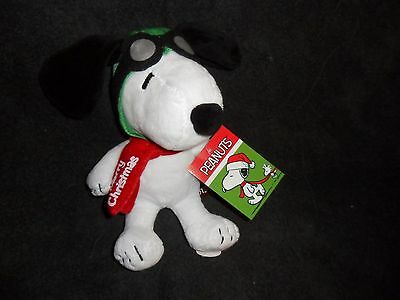 Snoopy Flying Ace Musical Christmas Plush.....peanuts Gang...charlie Brown