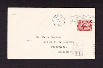 NEWFOUNDLAND 1921 35c AIR ON COVER WITH NO STOP AFTER '1921' SG 148a.