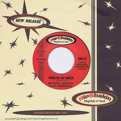 BIG MAMA THORNTON - WADE IN THE WATER b/w BARRY WHITE - TRACY Crossover R&B Soul