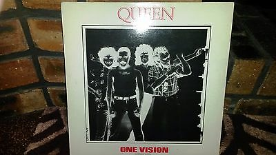 12 Inch Vinvl Single - Queen - One Vision