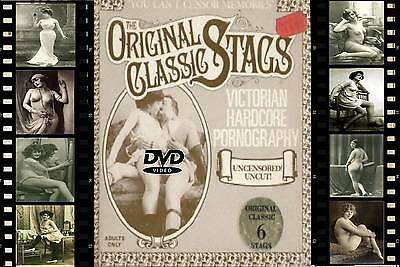 Classic---SIX OF THE BEST ON DVD--VICTORIAN BEAUTIES--8mm films