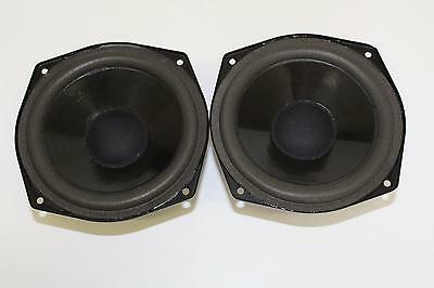Pair Of Mission 31-LF106/ Mid/Bass Drive Units - Drivers - Woofers For Model 731
