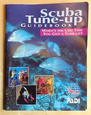 Scuba Tune-Up Guide Book Training Materials-Ships from the UK