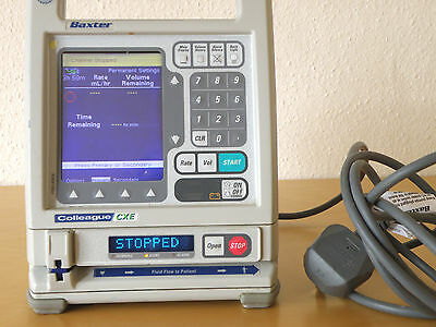 Baxter Colleague CXE Volumetric Infusion Pump