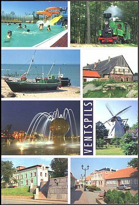Ventspils   Latvia 8 Views Unposted Non5667 Real Photos