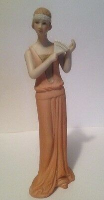 Figurine Of Lady In 1920's Style Dress