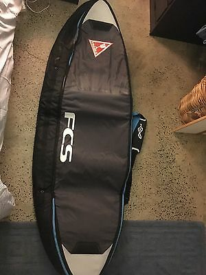 FCS Surfboard Cover 6'3 Brand New Travel Bag Double