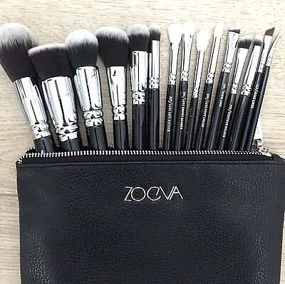 Zoeva Makeup Brushes Complete Set 15 Pcs New 100%Authentic BLACK FRIDAY DEAL