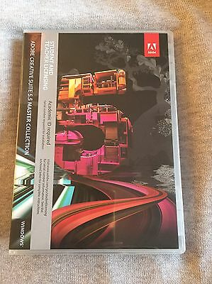 Adobe CS5.5 Master Collection For Windows - Full Retail License - 2x PC Install