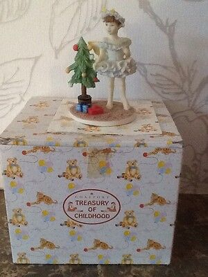 "Coalport ""The Christmas Fairy"" Treasury Of Childhood Collection"