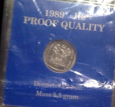 South Africa Rands 1989 Proof