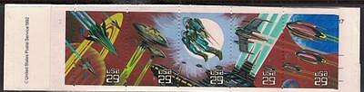 US Sc# BK207 MNH Complete Booklet 29c Space Fantasy