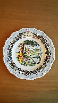 Royal Doulton Winnie the Pooh - The Rescue plate - in excellent condition