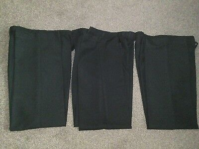 3 pairs of boys school trousers age 11-12.