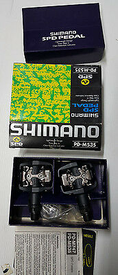 Pedali bici MTB Shimano SPD PD-M535 mountain bike pedals