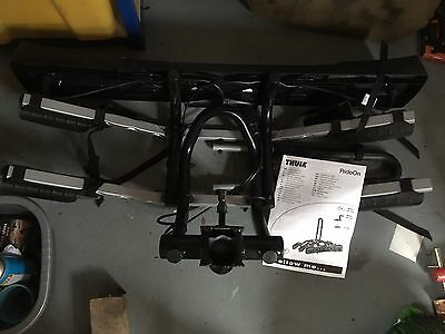 Thule 9502 Ride on 2 Bike cycle carrier Tow Bar Rack And Light Board