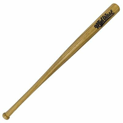 "Midwest Slugger Wooden Baseball Bat Natural Wood Softball Bat 28""/30""/32""/34"""