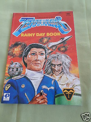 Terrahawks - Rainy Day Book  - Gerry Anderson - Purnell - 1984