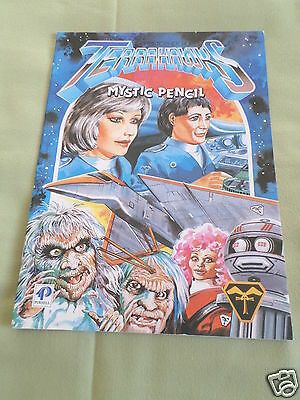 Terrahawks - Mystic Pencil Book  - Gerry Anderson - Purnell - 1984 -#1