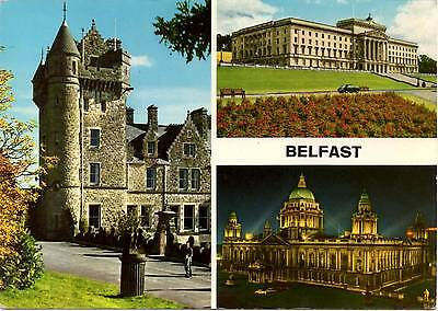 Belfast - Northern Ireland - Multiview - Postcard 1966