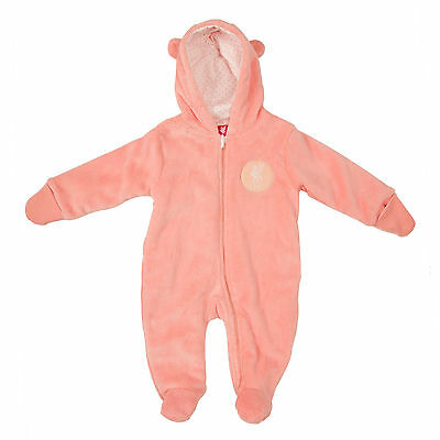 Liverpool FC  LFC Liverbird Pink Baby Snowsuit Official