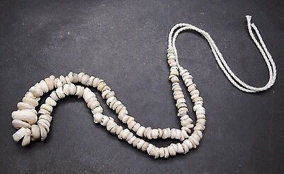 Superb Ancient Egyptian Shell Beaded Necklace, Middle Kingdom 1600 Bc