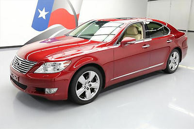 2011 Lexus LS Base Sedan 4-Door 2011 LEXUS LS460 COMFORT SUNROOF CLIMATE SEATS NAV 67K  #105814 Texas Direct