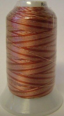 Embroidery Machine Thread Rayon 1000 metre V RUSSET - A921.0105