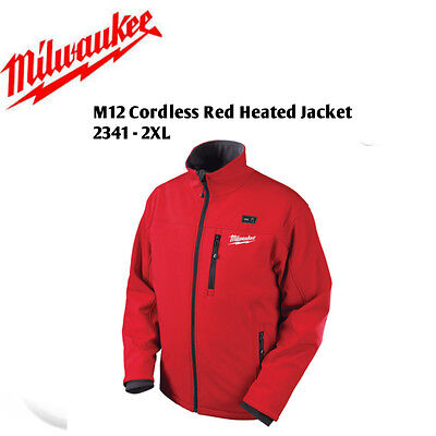 Milwaukee 2341-2XL M12 Cordless Outdoor Red Heated Jacket