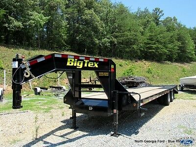 2016 Big Tex Model 22GN-25+5 Gooseneck Trailer Used