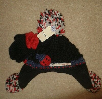 Brand new baby girl Next hat and mittens set age 6-12 months