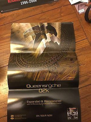 QUEENSRYCHE~QK2~Promo Poster 11x17 2-sided 2006